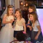 Girls Sing at a Communion in NJ