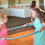 NJ Communion and Hula Hoop